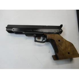N1710- PISTOLET GAMO COMPACT/ DROITIER CAL 4.5 5(3.65JOULES)-NEUF!!!