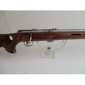 N1090-SAVAGE MARK II BTVS INOX - 22 LR FILETE  NEUF!!!