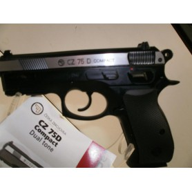 N256- PISTOLET CZ 75D COMPACT 4,5 CO2 - NEUF!!!!