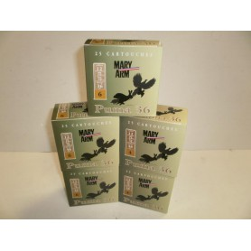 N405- LOT DE 125 CARTOUCHES DE CHASSE  MARY ARM - PUMA 36 BJ  - PROMO!!!!!!!!