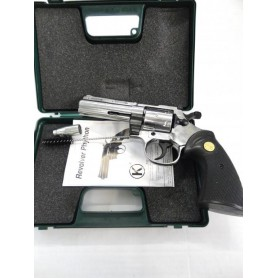 N1233- REVOLVER KIMAR PYTHON  CHROME DE DEFENSE CAL. 9 MM - NEUF!!!