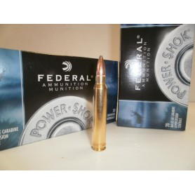 N267- LOT DE  20  BALLES FEDERAL CAL 300WIN MAGNUM