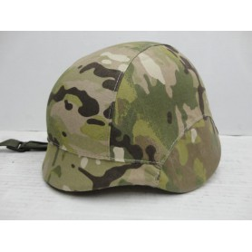 N2492- CASQUE AIRSOFT/PAINTBALL MULTI CAMO TYPE MILLITAIRE- NEUF!!!!