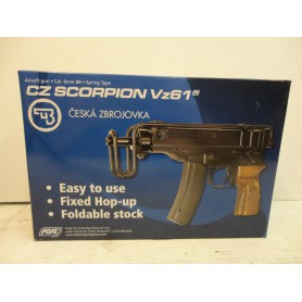 N2764- REPLIQUE AIRSOFT ASG SCORPION VZ61 - CAL 6 MM BB - NEUF!!