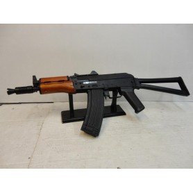 N2766- REPLIQUE AIRSOFT ASG AK74 REAL WOOD  - CAL 6 MM BB - NEUF!!!!!!