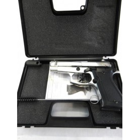 N1230- PISTOLET KIMAR DE DEFENSE AUTO MOD. 85 CHROME CAL. 9 MM - NEUF!!!